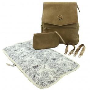 Latte Hartley Backpack by Isoki