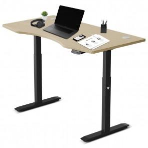 Lifespan Fitness ErgoDesk Automatic Standing Desk 1500mm (Oak)