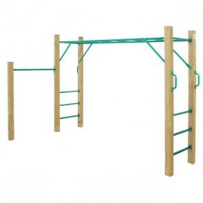 Lifespan Kids Amazon 2.5m Green Monkey Bars