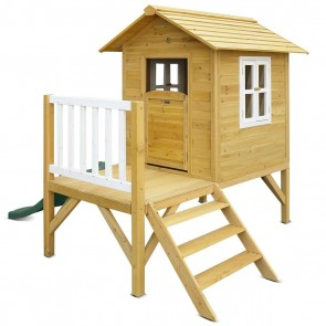 Lifespan Kids Wallaby Cubby House with Green Slide