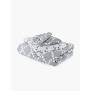 Linen and Moore Diamond Towels
