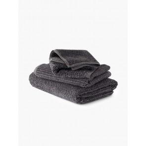 Linen and Moore Tweed Coal Towels