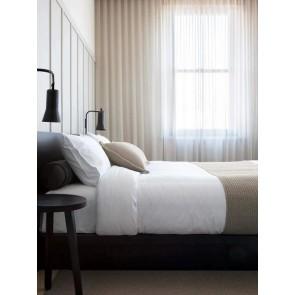 LM Home Aspen Bed Runner Flax