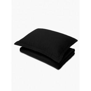 LM Home Aspen Quilt Black