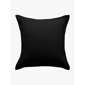 LM Home Aspen Quilted Pillowcase Black