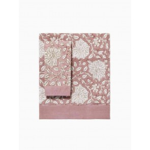 LM Home Sienna Table Cloth Blush