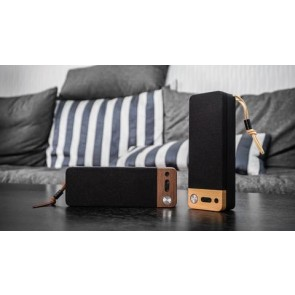 Alldock LuxeTech Portable Bluetooth Speaker - Walnut