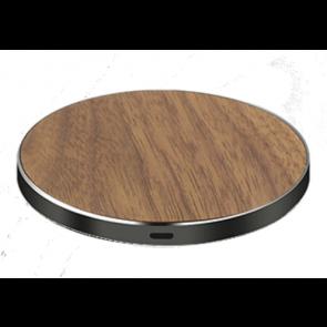 Alldock LuxeTech Wireless Pad - Walnut