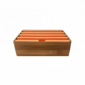 Medium Bamboo & Orange (S&D)
