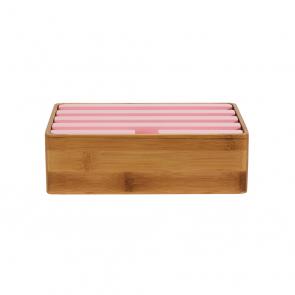 Medium Bamboo & Pink