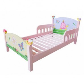 Teamson Magic Garden Toddler Bed