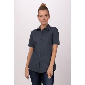 Malibu Navy Women Shirt by Chef Work