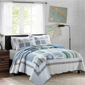 Macey & Moore Manhattan Coverlet