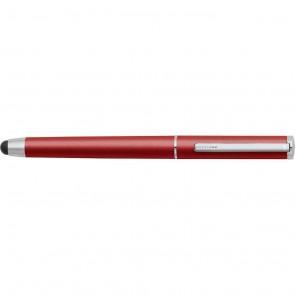 Sheaffer Matte Red Stylus + Ballpoint Pen