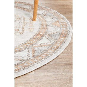 Mayfair Caitlen Natural Round by Rug Culture