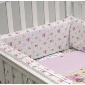 Babyhood Breathe Eze TM Cot Bumper