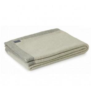 Merino Wool Blended Misty Alpaca Throw Rug by St Albans