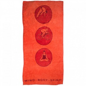 Bambury Microfibre Printed Sports Towel