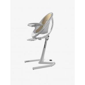 Mima Moon High Chair White Champagne