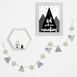 Mountain Pompom Garland by Lolli Living