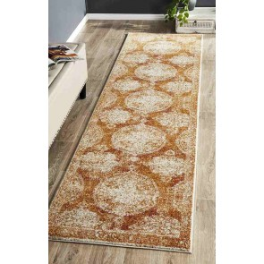 Museum 862 Rust Runner By Rug Culture