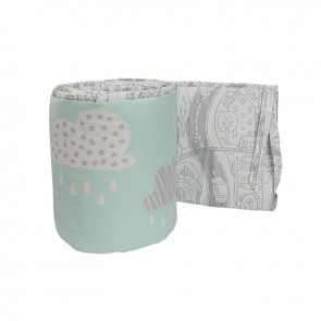 My City 2 Piece Cot Bumper Set by Lolli Living