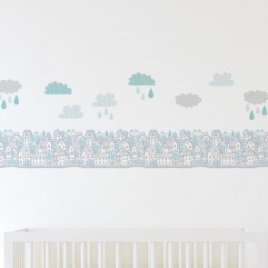 My City Wall Decal Set by Lolli Living