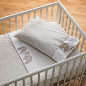 Naturi 3 Piece Cot Sheet Set by Lolli Living