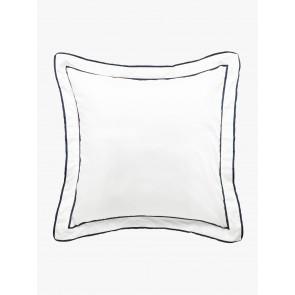 Grosgrain European Pillowcase by Linen and Moore