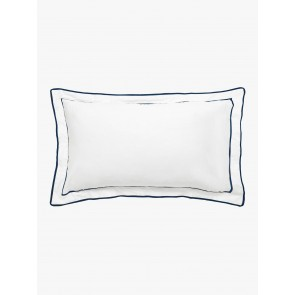 Grosgrain Tailored Pair Pillowcase by Linen and Moore