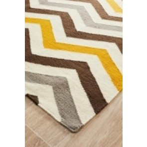 Nomad 18 Yellow by Rug Culture