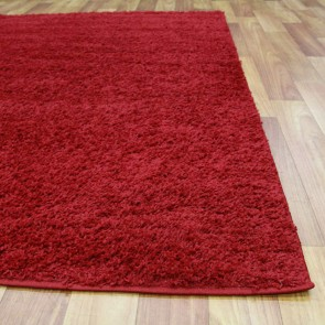 Notes Red Rug by Rug Culture