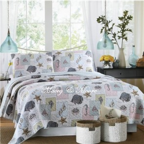 Macey & Moore Ocean House Coverlet
