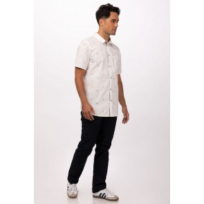 Omaha White Shirt by Chef Works