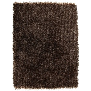 Orlando Dark Brown Rug by Rug Culture