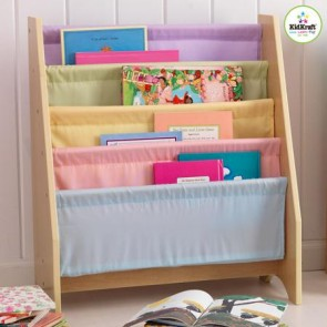 Pastel Sling Bookshelf by Kidkraft
