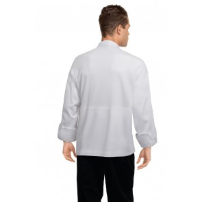 Tours White Executive Chef Jacket by Chef Works