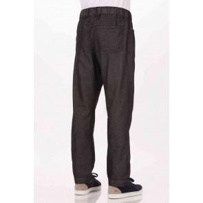 Gramercy Black Denim Chef Pants by Chef Works