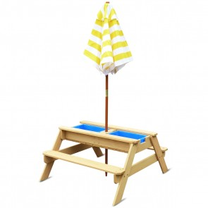 Lifespan Kids Sunrise Sand & Water Table with Umbrella