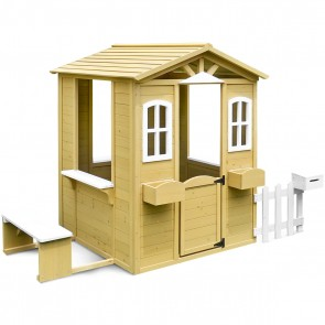 Lifespan Kids Teddy Cubby House Set with Floor