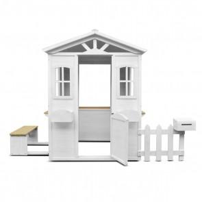 Lifespan Kids Teddy White Cubby House + Floor (V2)