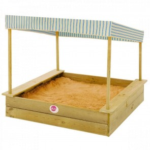 Beach Wooden Sand Pit and Canopy