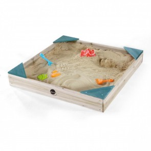 Colours By Plum Teal Square Wooden Sandpit
