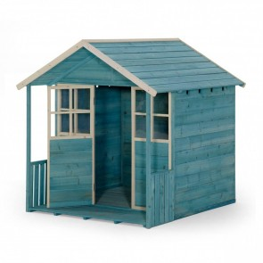 Deckhouse Teal Wooden Playhouse