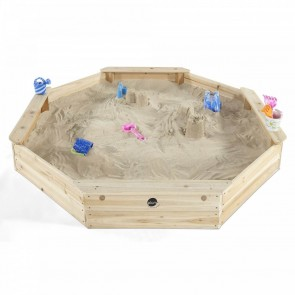 Large Octagonal Wooden Sand Pit