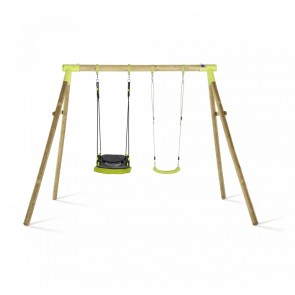 Premium Double Swing Lime Glide Nest & Swing Seat