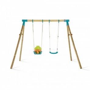 Premium Double Swing Turquoise Baby Seat & Swing Seat