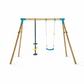 Premium Double Swing Turquoise Glider & Swing Seat