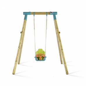 Premium Single Swing Turquoise Baby Seat