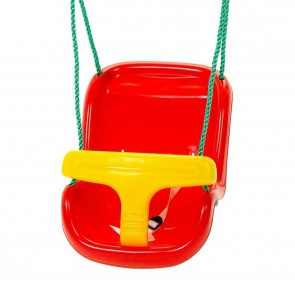 Red & Yellow Baby Swing Seat